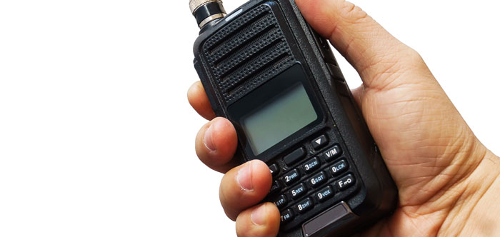 Two Way Radio ZGS Security Services